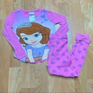 4/$20 - Toddler Girls Sofia The First Pajamas